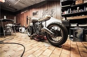 Garage traditionnel