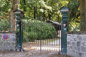 Installation d'un portail